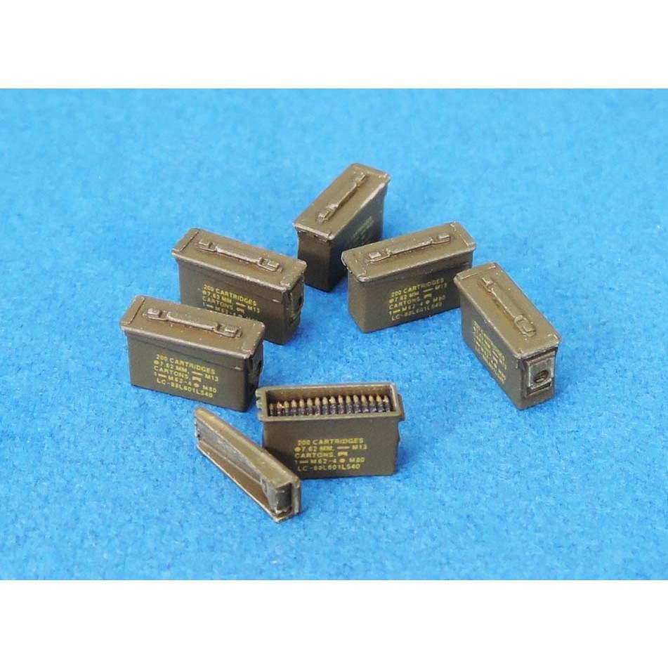【新製品】LF1373 30CAL 弾薬箱セット(現用、クローズ27個、オープン3個、弾薬ベルト3個)
