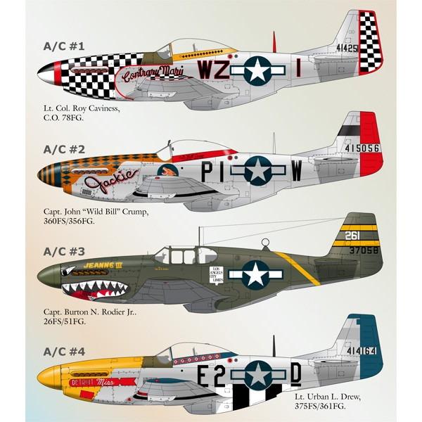 【新製品】32-021)ノースアメリカン P-51 マスタングPart.4