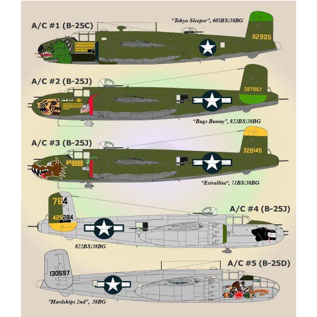【新製品】72-039 ノースアメリカン B-25 パート1