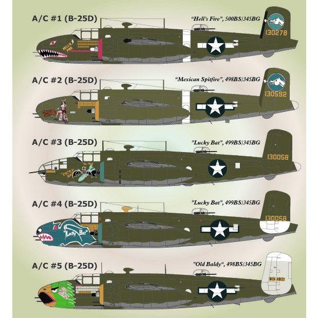 【新製品】72-040 ノースアメリカン B-25 パート2