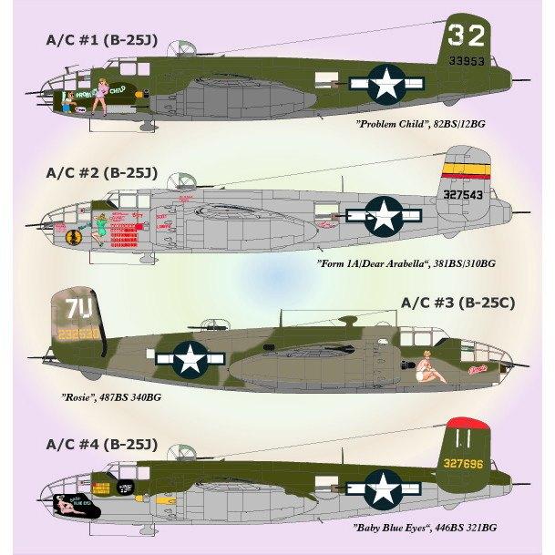 【新製品】72-041 ノースアメリカン B-25 パート3