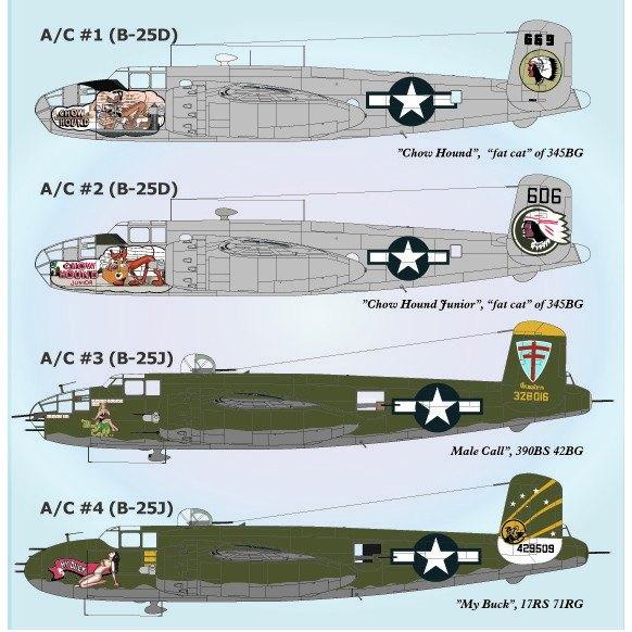 【新製品】72-042 ノースアメリカン B-25 パート4
