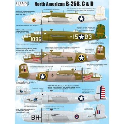 【新製品】72019 ノースアメリカン B-25B/C/D