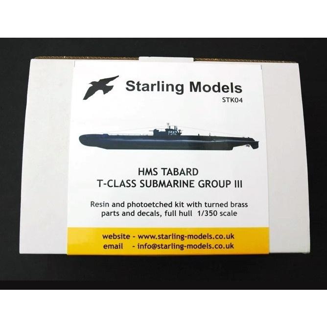 【新製品】STK04 T級潜水艦 第3グループ タバード Tabard