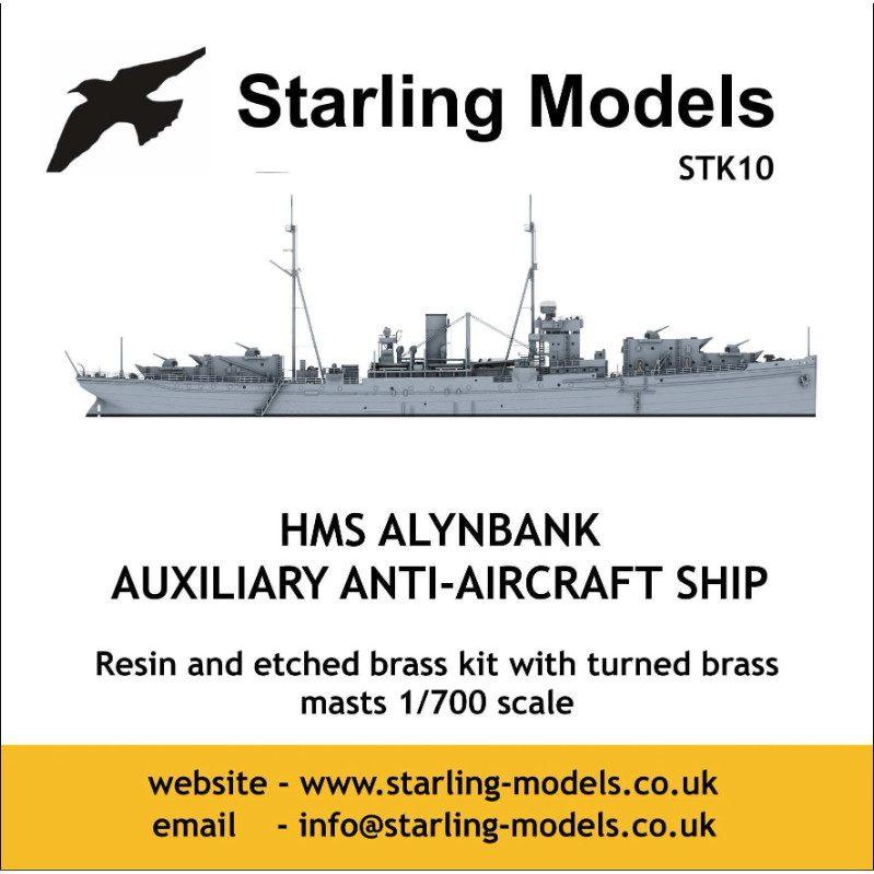 【新製品】STK10 英海軍 特設防空艦 アリンバンク Alynbank 1940