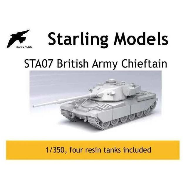 【新製品】STA07 英陸軍 チーフテン