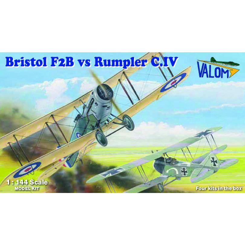 【新製品】14422 ブリストル F.2B vs ルンプラー C.IV