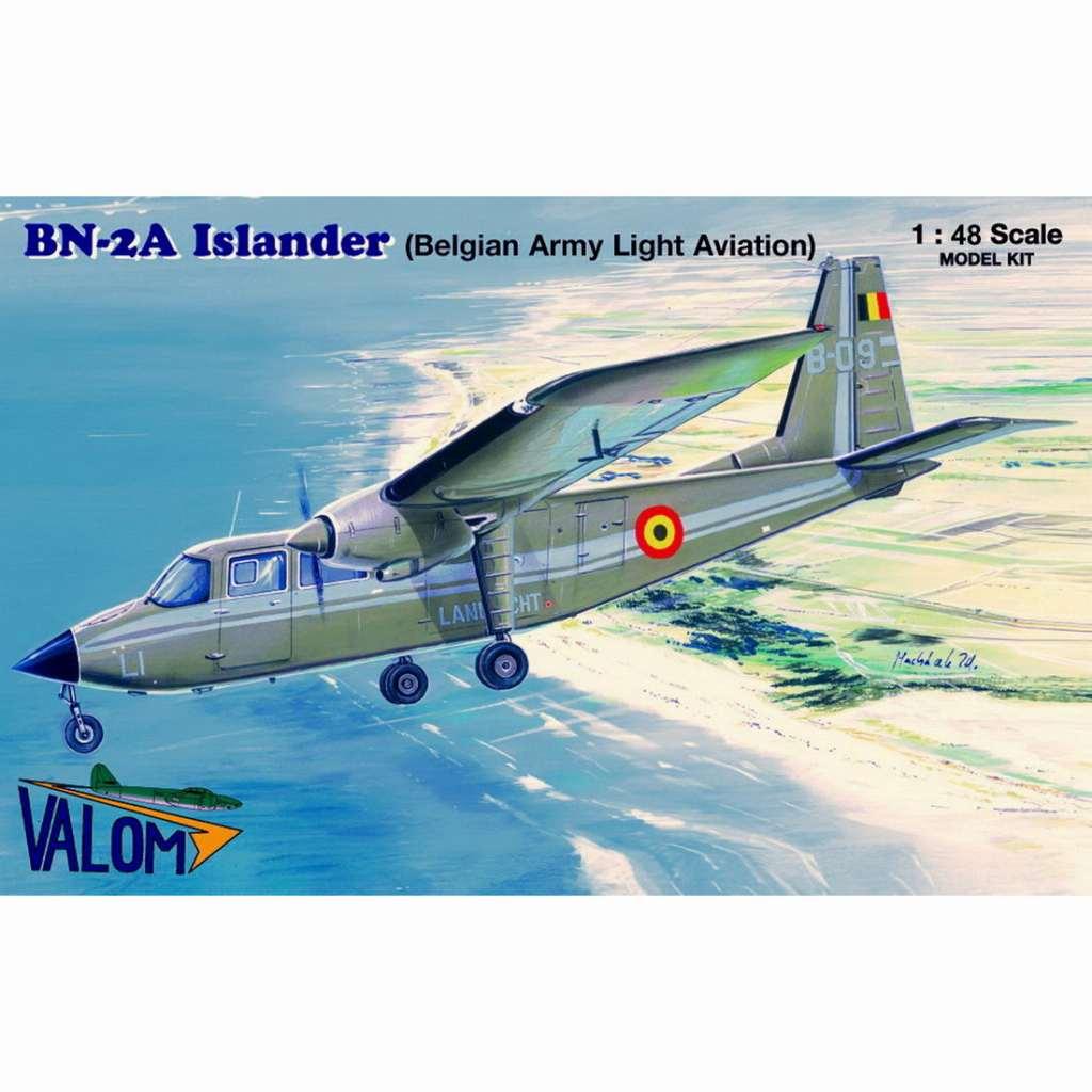 【新製品】48011 ブリテン・ノーマン BN-2A アイランダー ベルギー陸軍