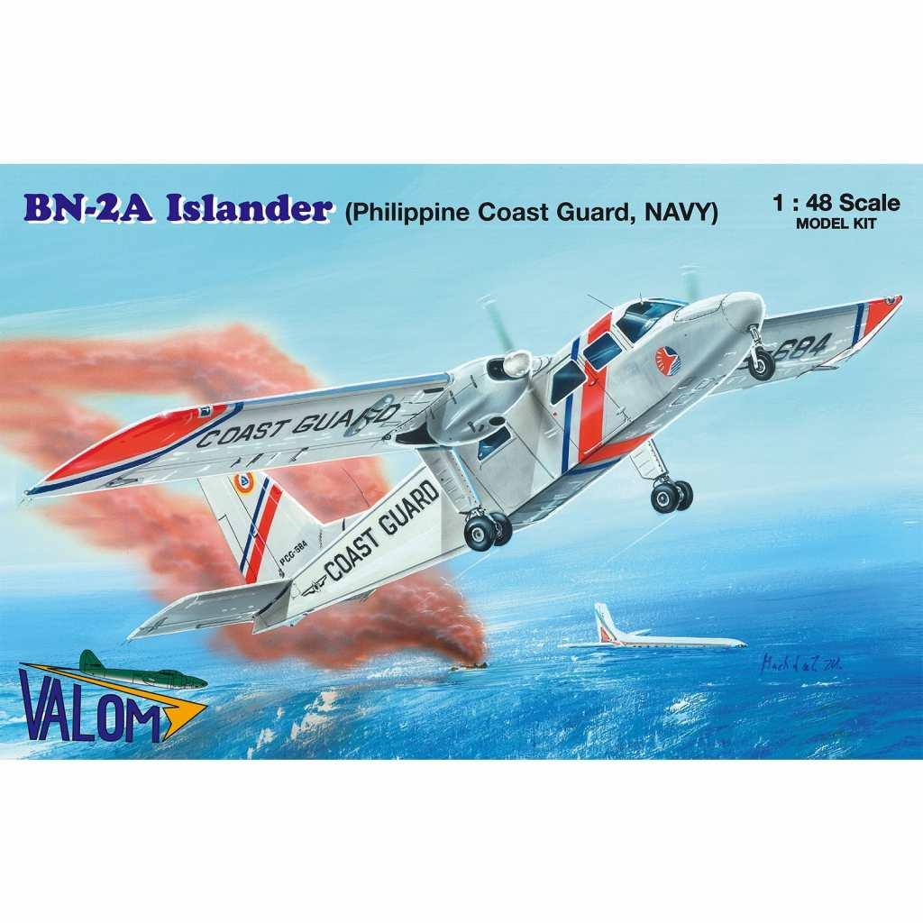【新製品】48014 ブリテン・ノーマン BN-2A アイランダー フィリピンコーストガード/海軍