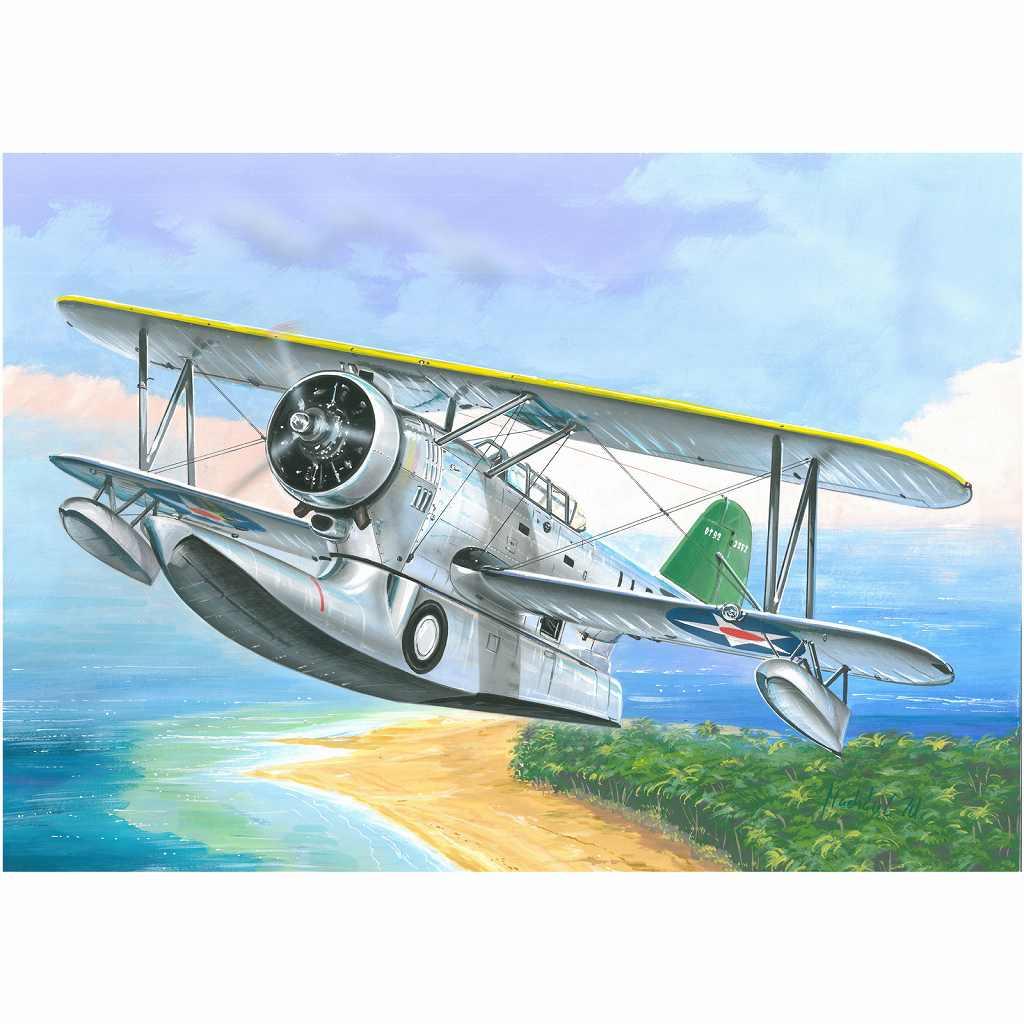 【新製品】72126 グラマン J2F-2/J2F-2A ダック 水陸両用機