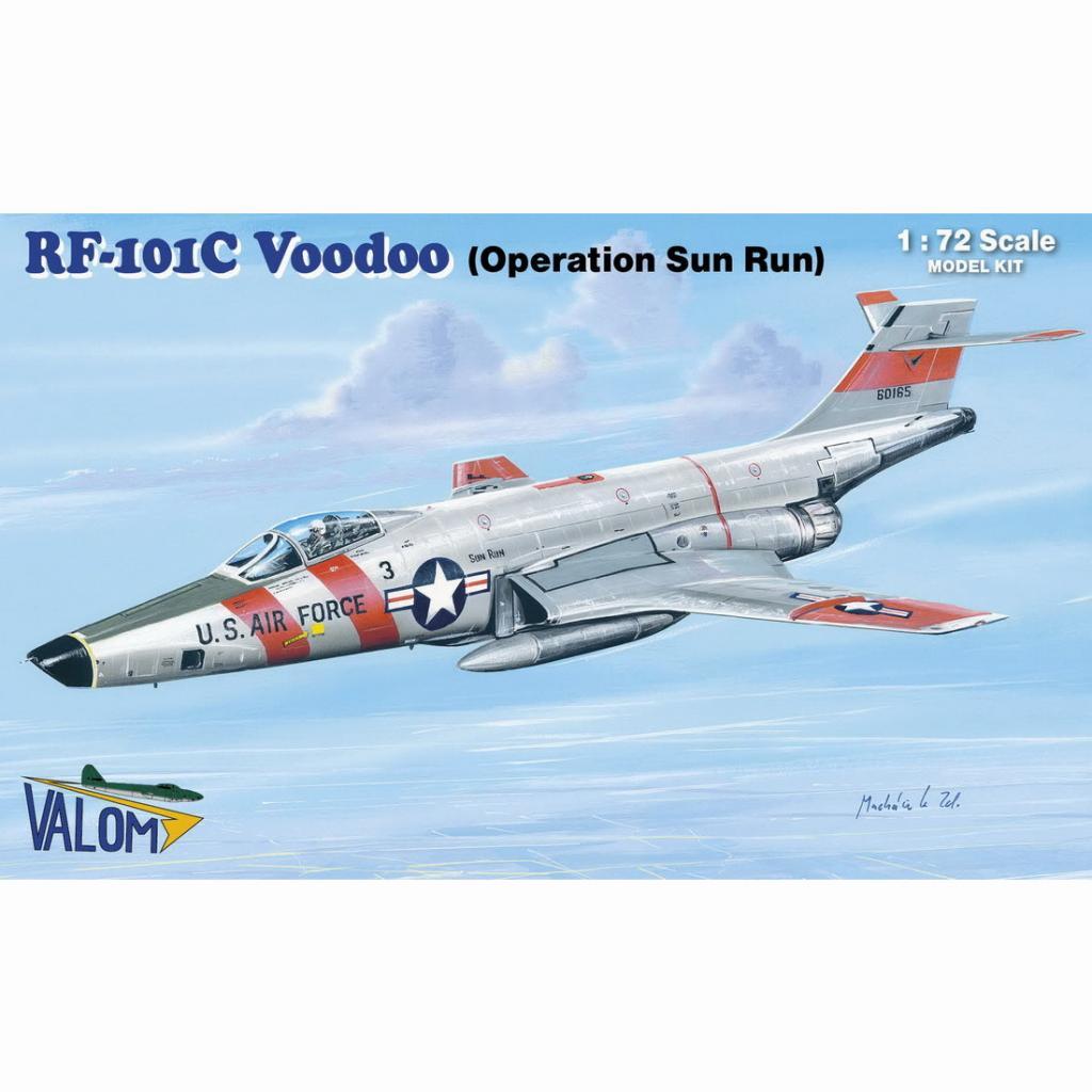 【新製品】72131 マクダネル RF-101C ヴードゥー オペレーション・サン・ラン