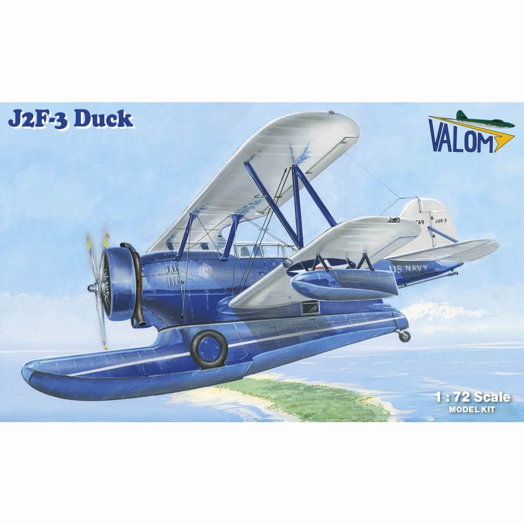 【新製品】73133 グラマン J2F-3 ダック 水陸両用機