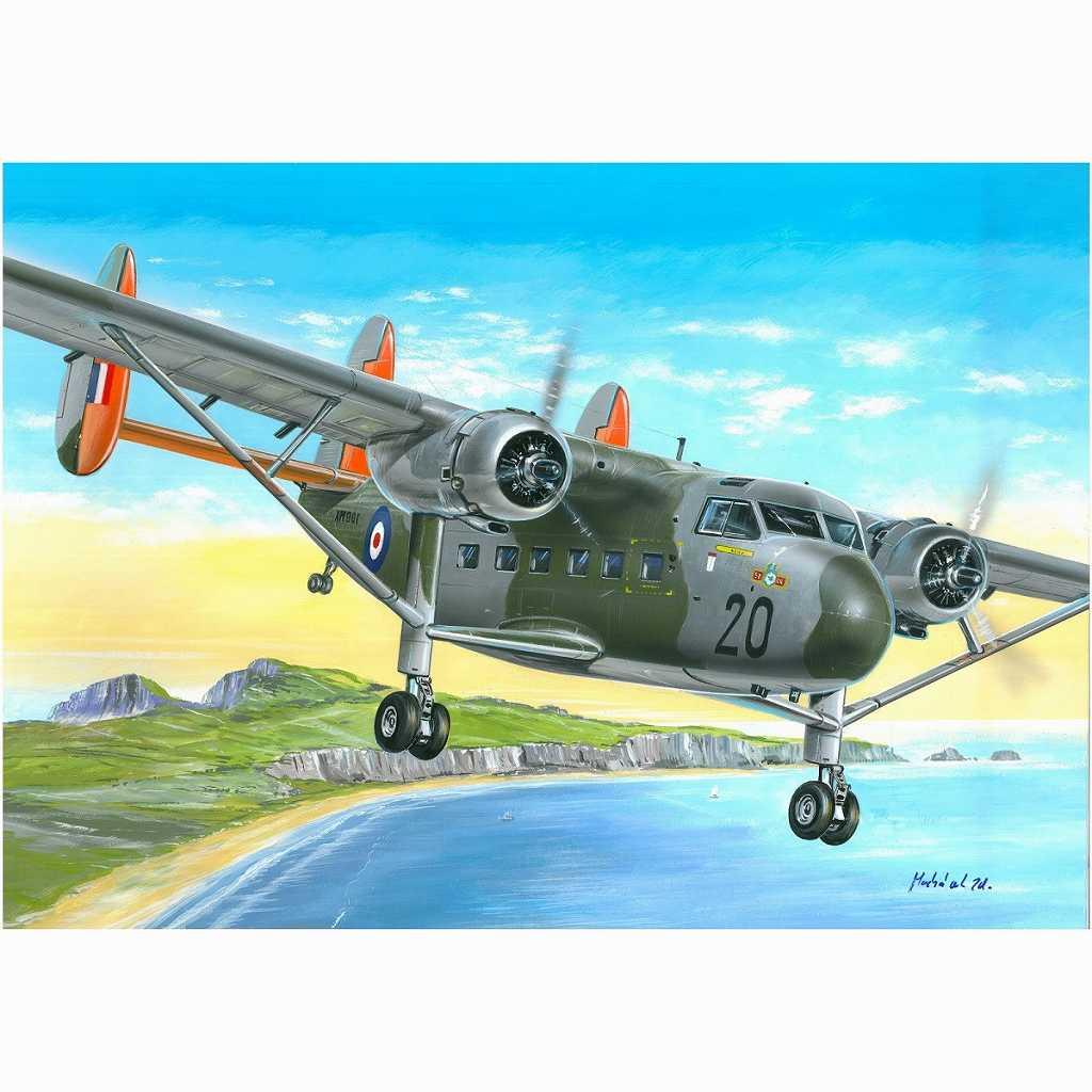 【新製品】72136 スコティッシュ・アビエーション ツインパイオニア CC.Mk.I 「英空軍&帝国テストパイロット学校」