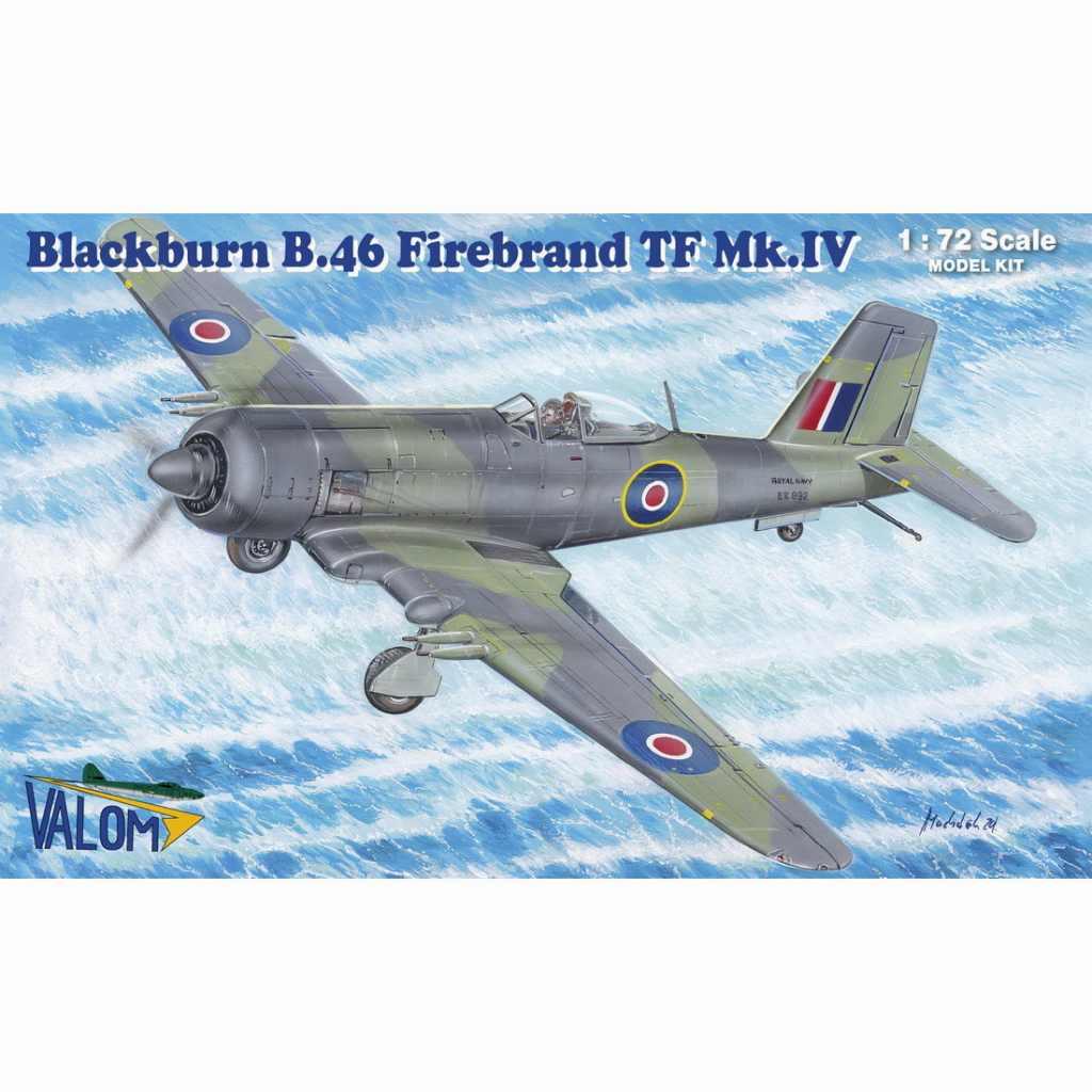 【新製品】72140 ブラックバーン B.46 ファイアブランド TF Mk.IV