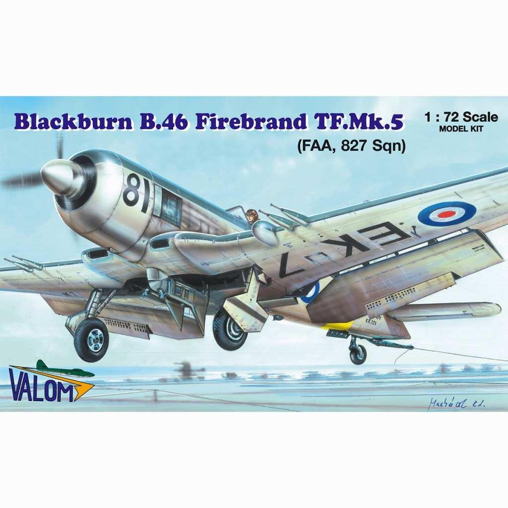 【新製品】72141 ブラックバーン B.46 ファイアブランド TF Mk.5 「第827飛行隊」