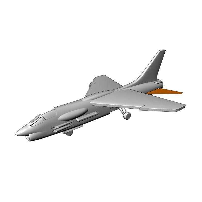 【新製品】AC700107 ヴォート F-8 クルセイダー