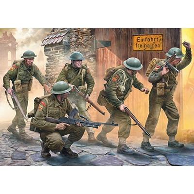 【新製品】3585 英 歩兵5体西部戦線 1944-45