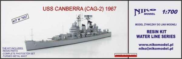 【再入荷】7057 ミサイル巡洋艦 CAG-2 キャンベラ CANBERRA 1967
