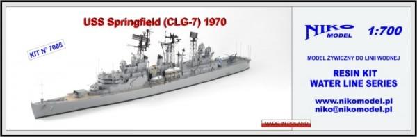 【再入荷】7066 ミサイル巡洋艦 CLG-7 スプリングフィールド Springfield 1970