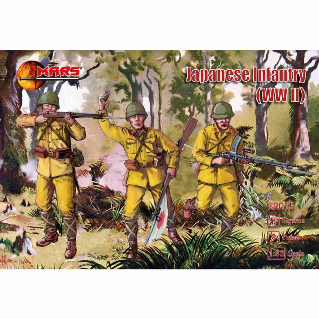 【新製品】32015 WWII 日本陸軍 歩兵