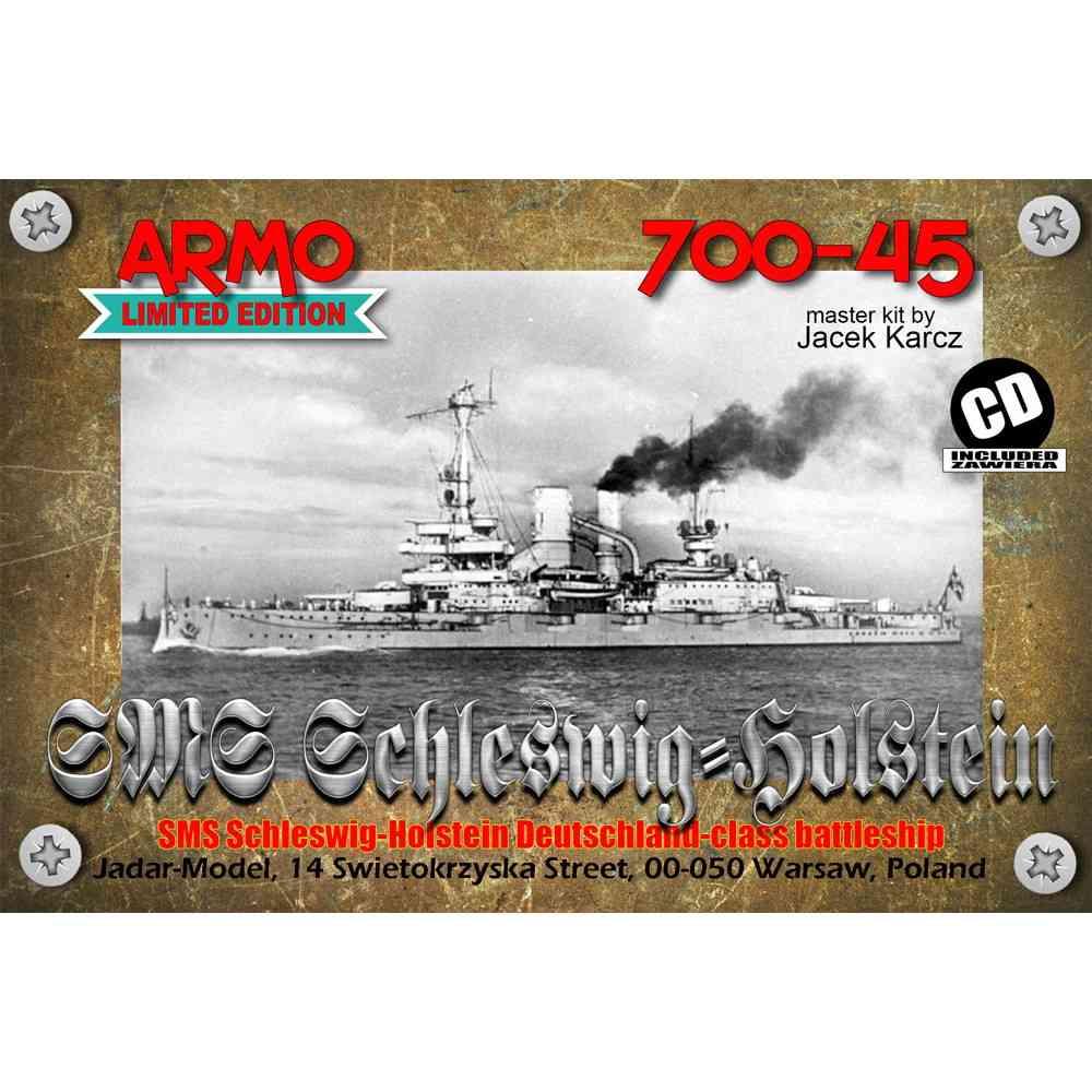 【新製品】700-45 独海軍 ドイッチュラント級戦艦 シュレスヴィヒ・ホルシュタイン Schleswig-Holstein 1939