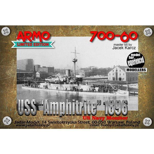 【新製品】700-60 米海軍 アンピトリテ級モニター艦 BM-2 アンピトリテ Amphitrite 1896