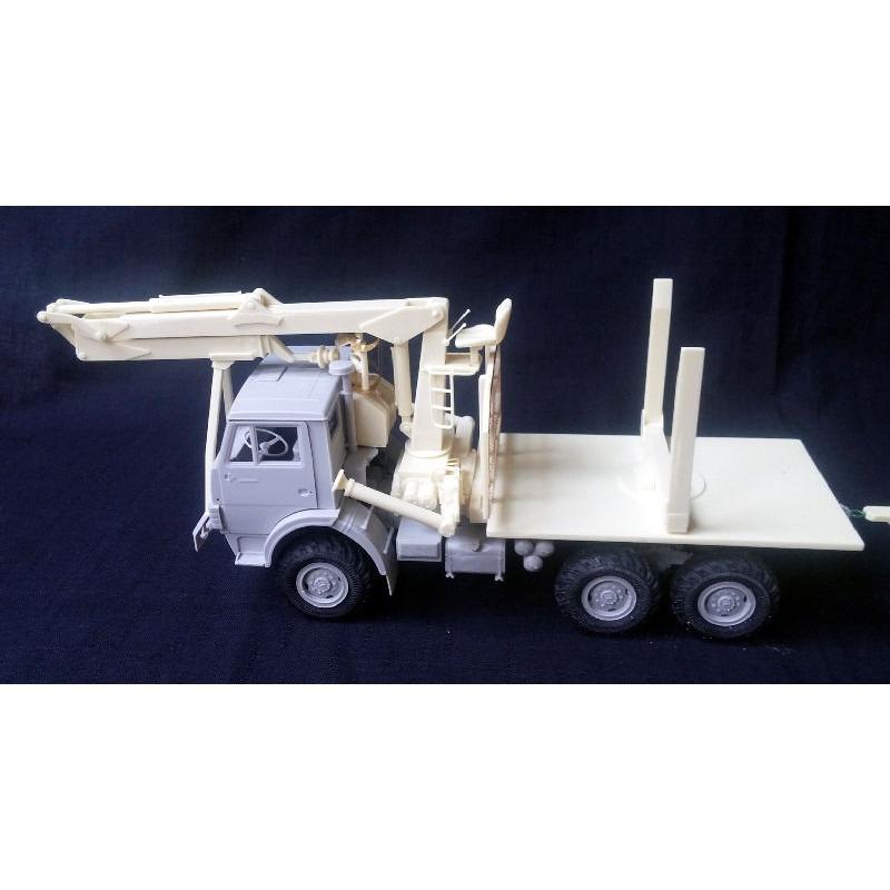【新製品】PS35278 ロシア KAMAZ 材木運搬車コンバージョンセット
