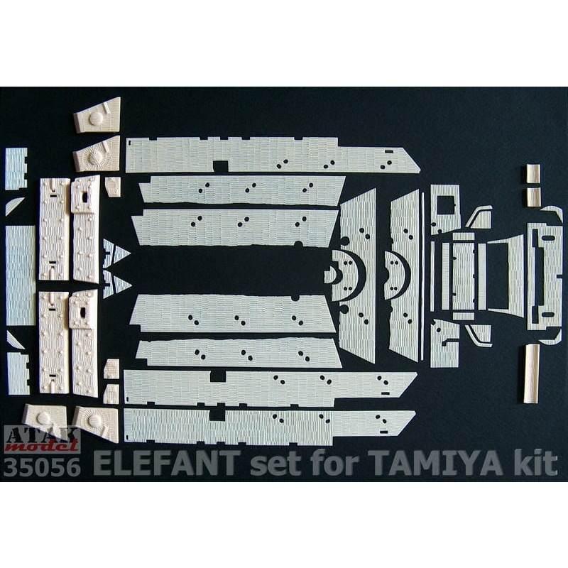 【新製品】35056 ツィメリットコーティングシート エレファント タミヤ用