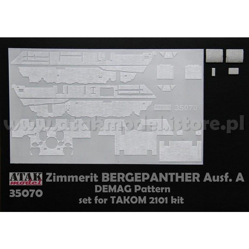 【新製品】35070 ツィメリットコーティングシート ベルゲパンサーA型 デマーグパターン タコム用