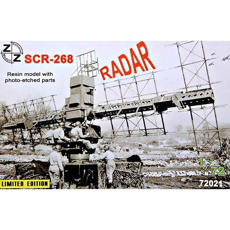 【新製品】72021 SCR-268 WWII 米陸軍レーダー