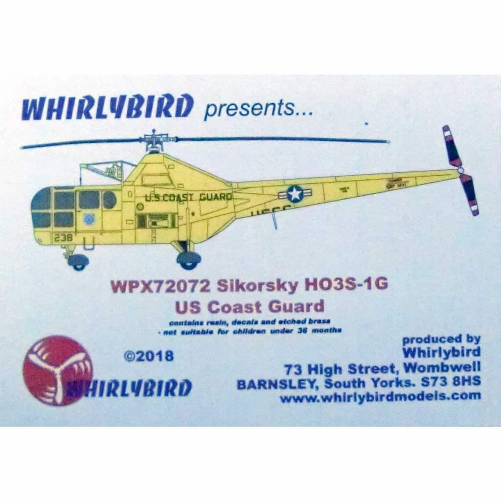 【新製品】WPX72072 シコルスキー HO3S-1G ドラゴンフライ アメリカコーストガード