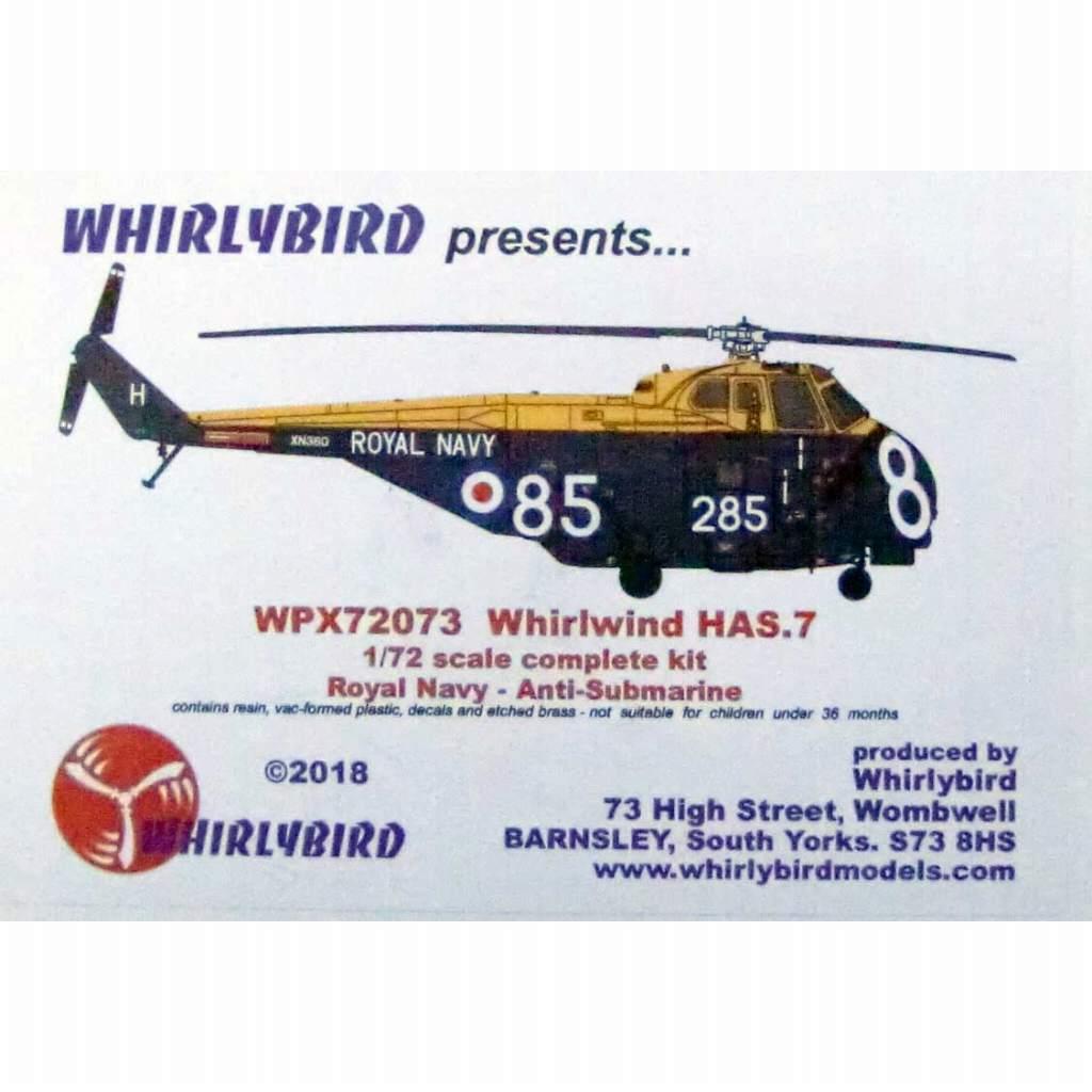 【新製品】WPX72073 ウェストランド ワールウィンド HAS.7 イギリス海軍対潜哨戒ヘリコプター