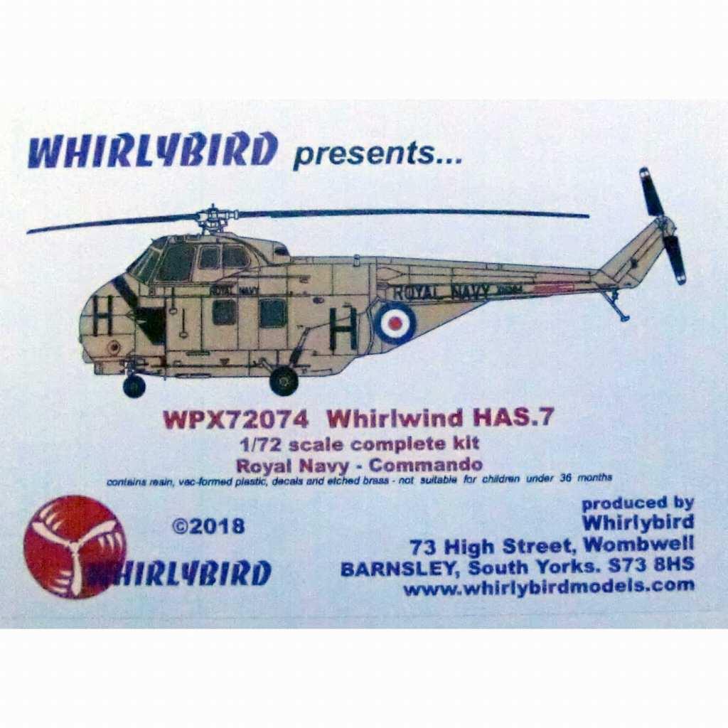 【新製品】WPX72074 ウェストランド ワールウィンド HAS.7 イギリス海軍コマンドヘリコプター