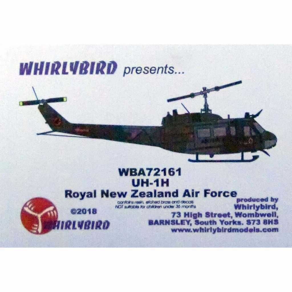 【新製品】WBA72161 UH-1H ニュージーランド空軍 コンバージョンセット