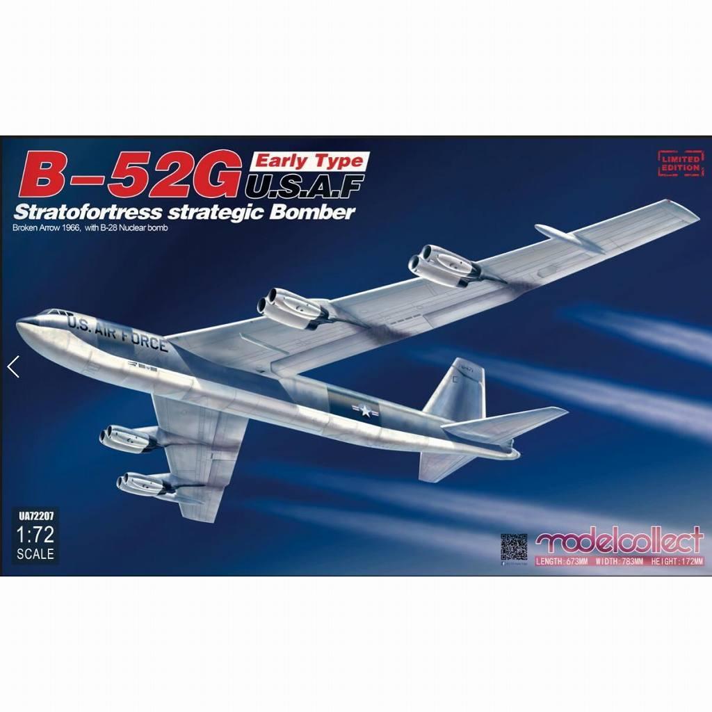 【新製品】UA72207 ボーイング B-52G ストラトフォートレス 前期型 w/B28核爆弾 「ブロークン・アロー196年」 (パロマレス米軍機墜落事故)