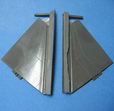 【再入荷】HMR48013 F-4 ファントムII 水平尾翼 溝無し
