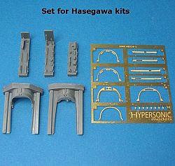 【再入荷】HMR48016-1 F-4 ファントムII キャノピーディテールセット ハセガワ用