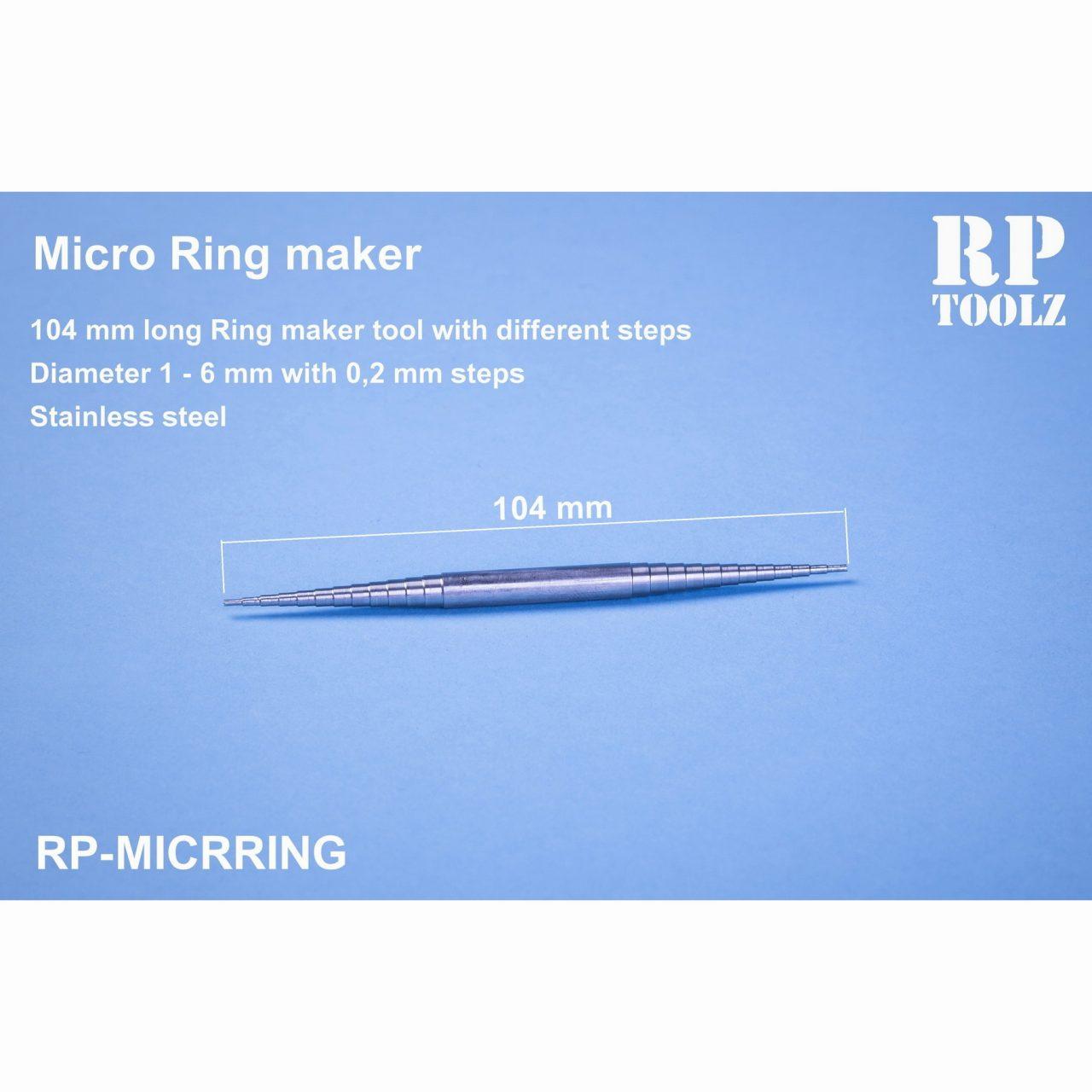 【新製品】RP-MICRING マイクロリングメイカー