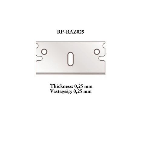 【新製品】RP-razor025 カッターツール用替刃 0.25mm 5枚