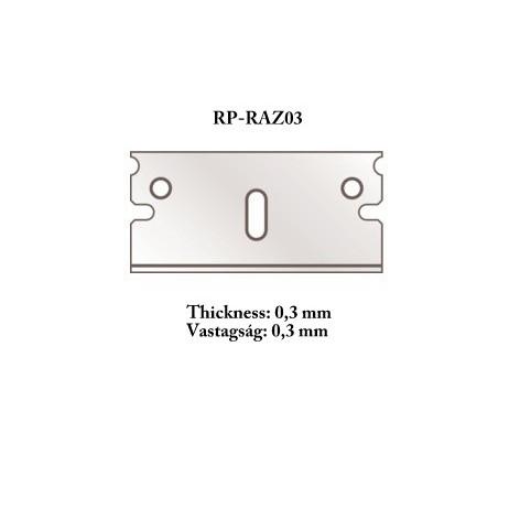 【新製品】RP-razor03 カッターツール用替刃 0.3mm 5枚