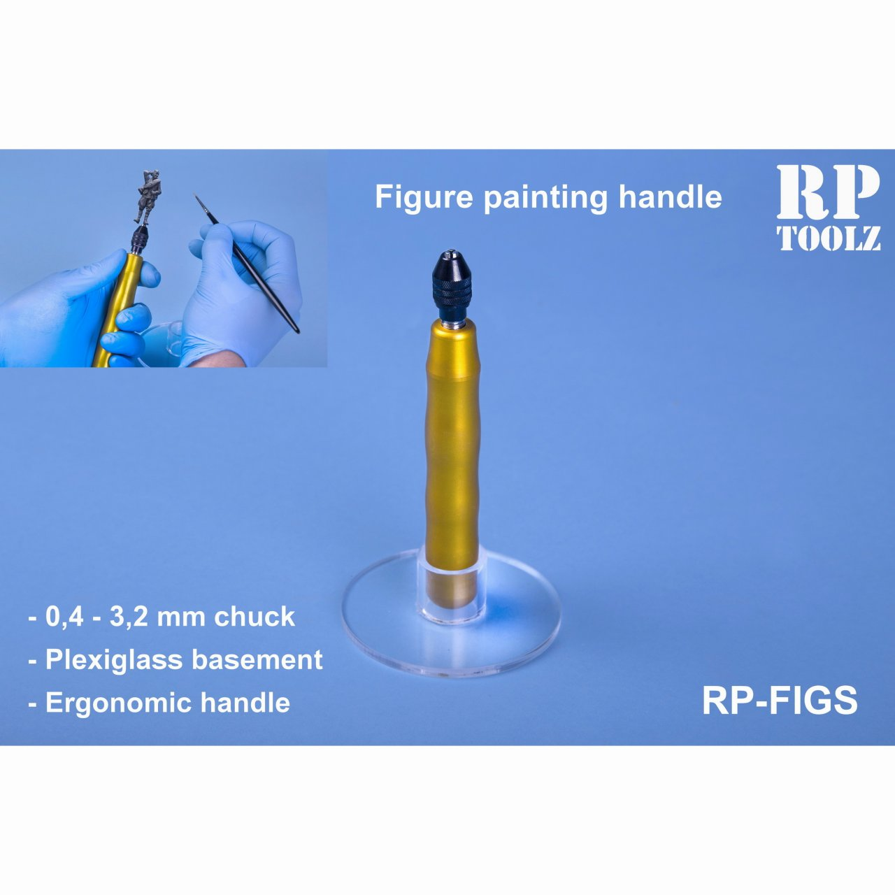 【新製品】RP-FIGS フィギュアペインティングハンドル スタンド付