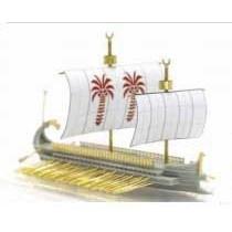【新製品】AH87019 カルタゴ五段櫂船1(ガレー船)