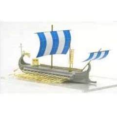【新製品】AH87022 ローマ五段櫂船1(ガレー船)