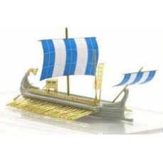 【新製品】AH87023 ローマ五段櫂船2(ガレー船)