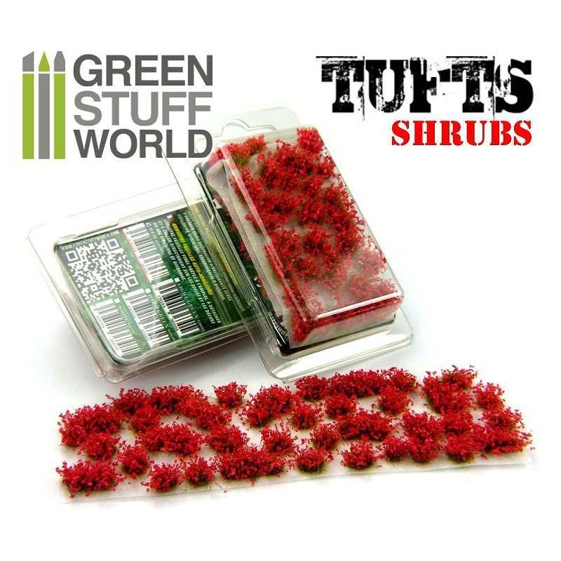 【新製品】GSWD-119 ジオラマ素材 赤い花 6mm