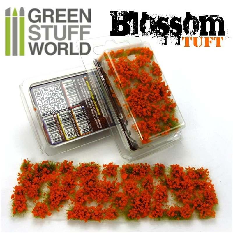 【新製品】GSWD-121 ジオラマ素材 オレンジの花 6mm