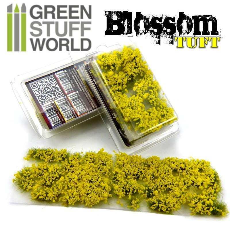 【新製品】GSWD-122 ジオラマ素材 黄色い花 6mm