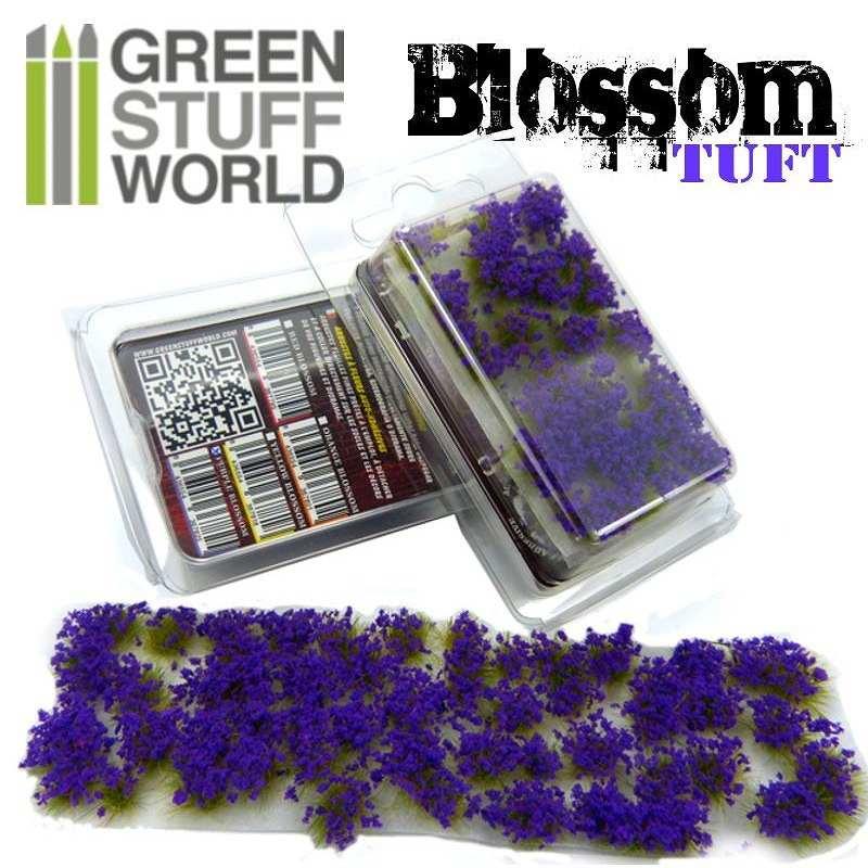 【新製品】GSWD-123 ジオラマ素材 紫の花 6mm