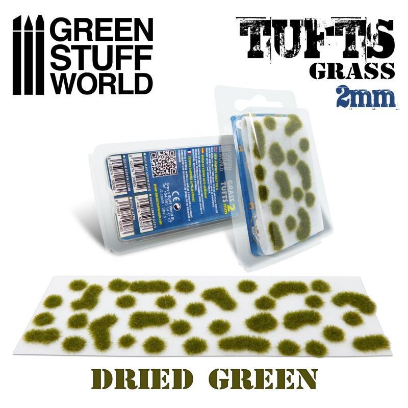 【新製品】GSWD-2337 草むら 長さ2mmドライグリーン(粘着剤付)