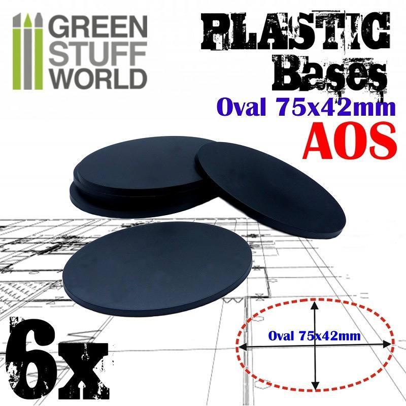 【新製品】GSWD-9890 プラスチックディスプレイベース 楕円形型 Mサイズ